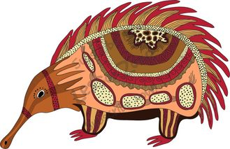 Aboriginal clipart Indigenous collection clipart Lesson border