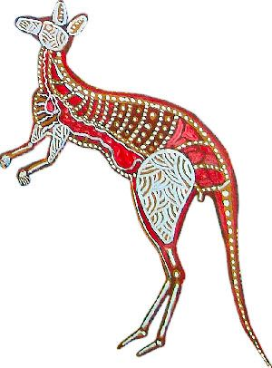 Aborigines clipart aboriginal kangaroo About and on images Art