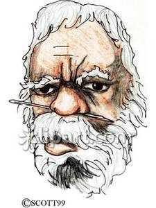Aborigines clipart aboriginal man #4
