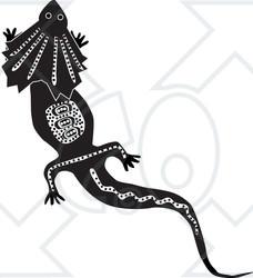 White White Clipart Illustration Lizard