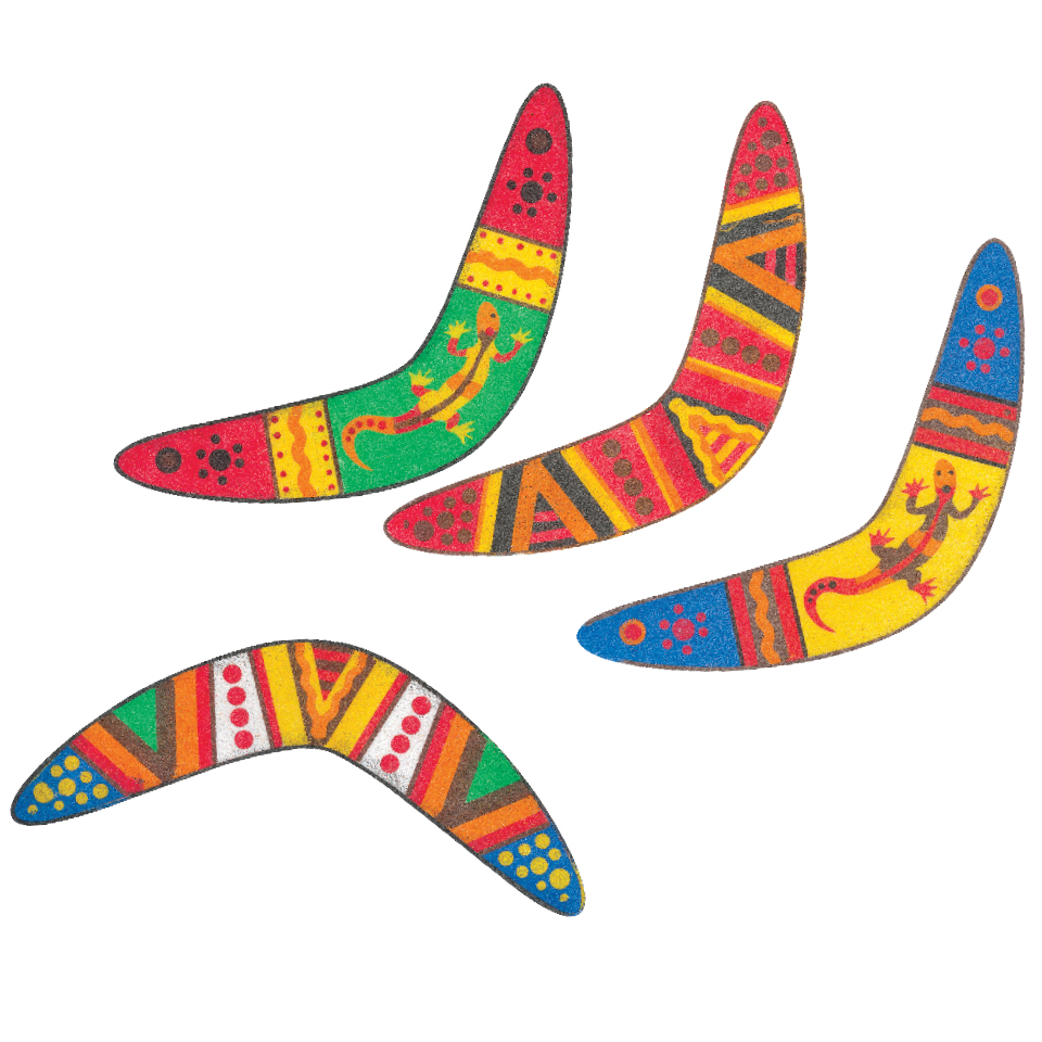 Aboriginal clipart boomerang Craft for australian Boomerang the