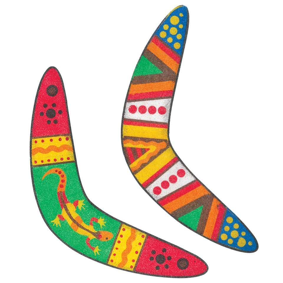 Aboriginal clipart boomerang Sand large These Boomerang for