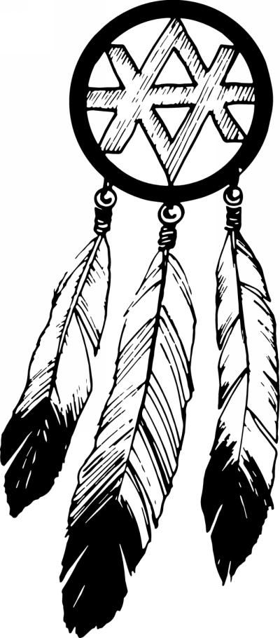 Dreamcatcher clipart first nation person On catchers catcher printable pages