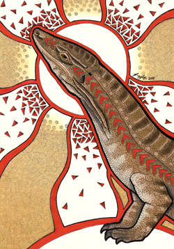 Aborigines clipart goanna Goanna  Animal Energy
