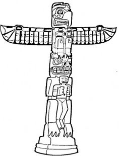 Totem Pole clipart simple Pole How Collage a Totem