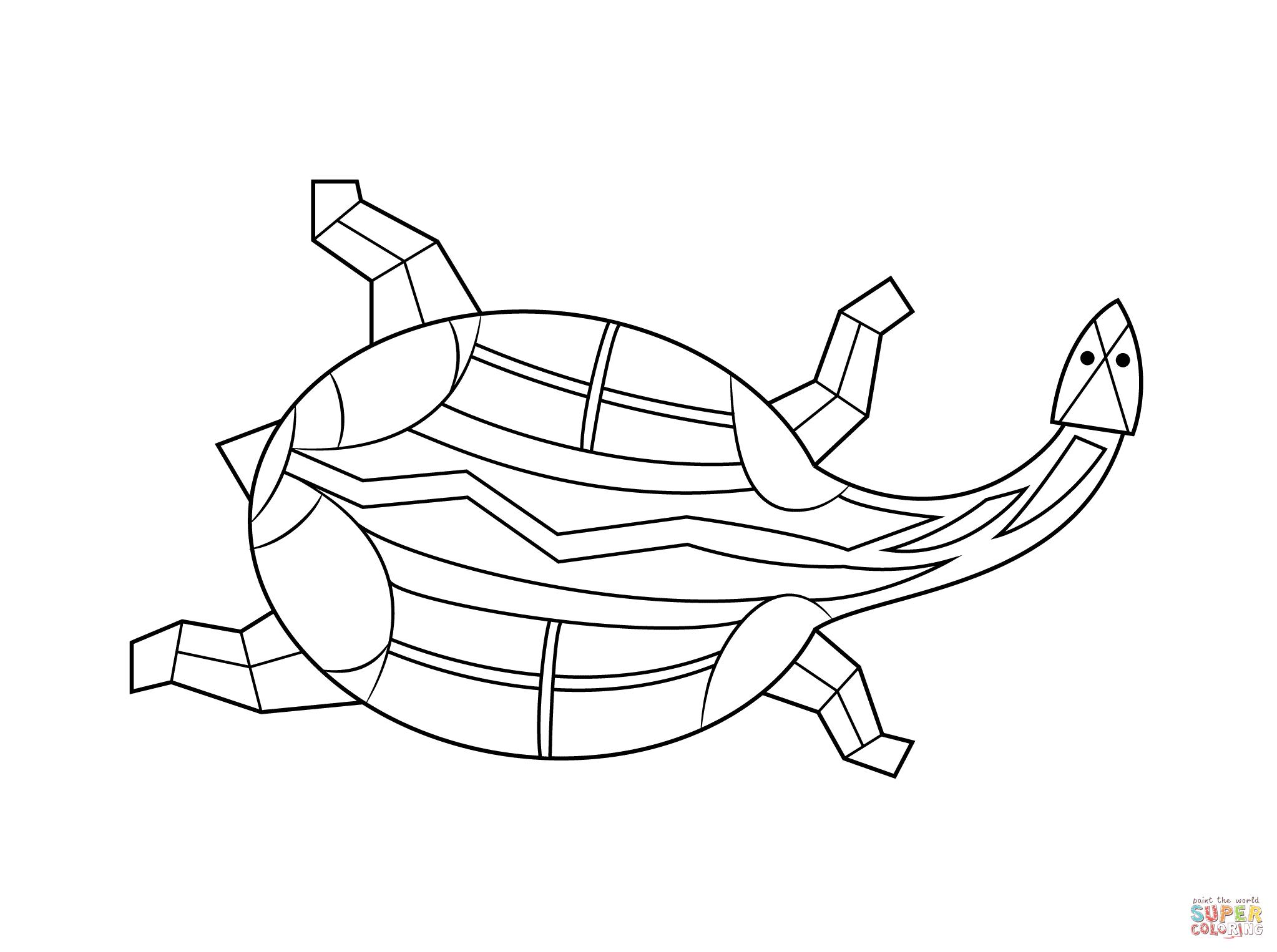 Aborigines clipart turtle #4