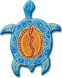 Aborigines clipart turtle #1
