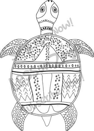Aborigines clipart turtle #5