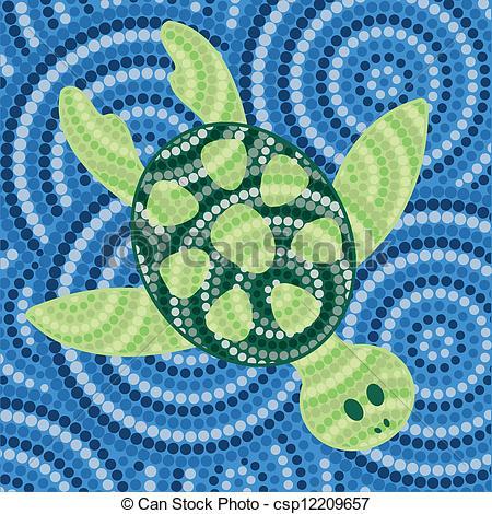 Aborigines clipart turtle #3