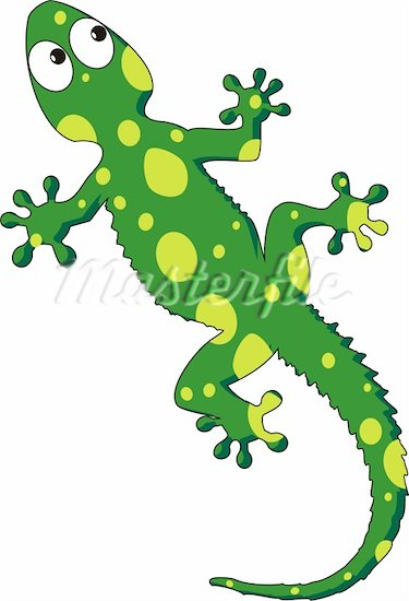 Drawn reptile stylized Cliparts lizard Lizard Clipart 51