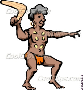 Aborigines clipart #7