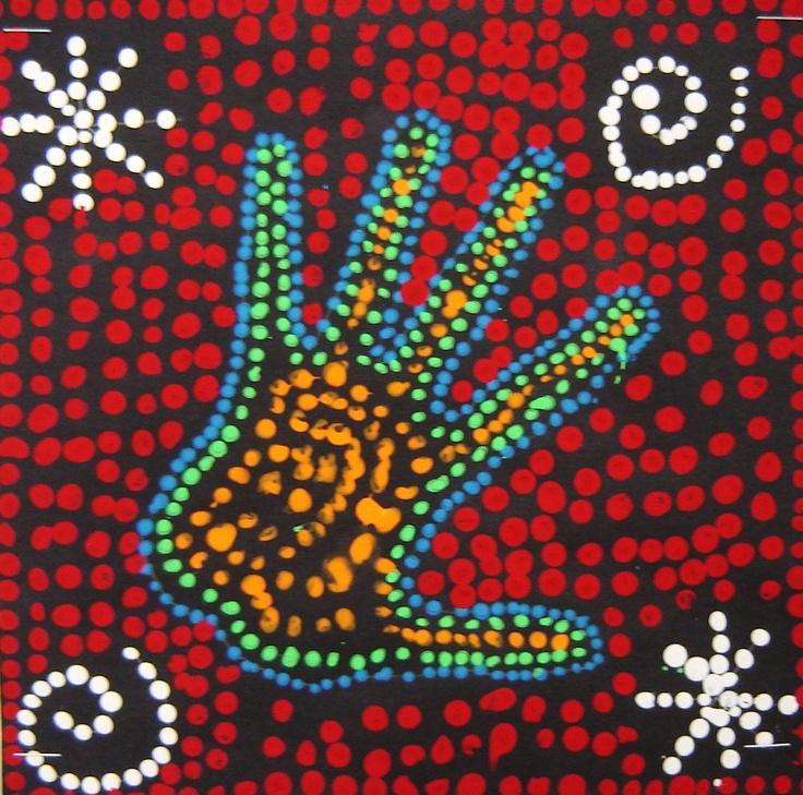 Aborigines clipart aboriginal art #6