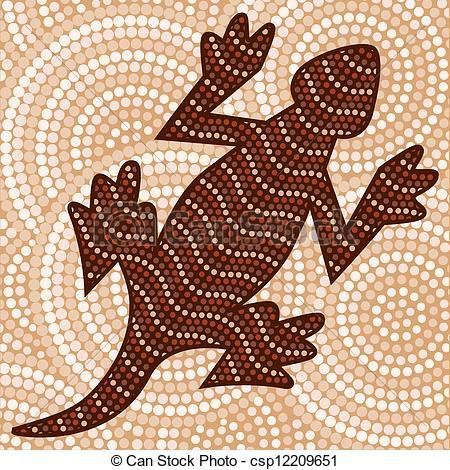 Aborigines clipart aboriginal art #5