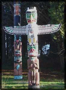 Totem Pole clipart aboriginal West art indian Poles coast