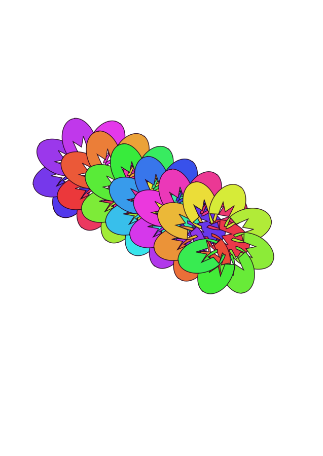 Wildflower clipart abstract  Clip Clip Free file