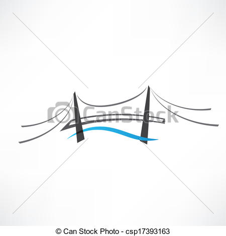 Abstract clipart bridge Icon Search Clip bridge abstract