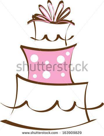 Cake clipart fancy cake Clipart Pink Clipart Panda Cake