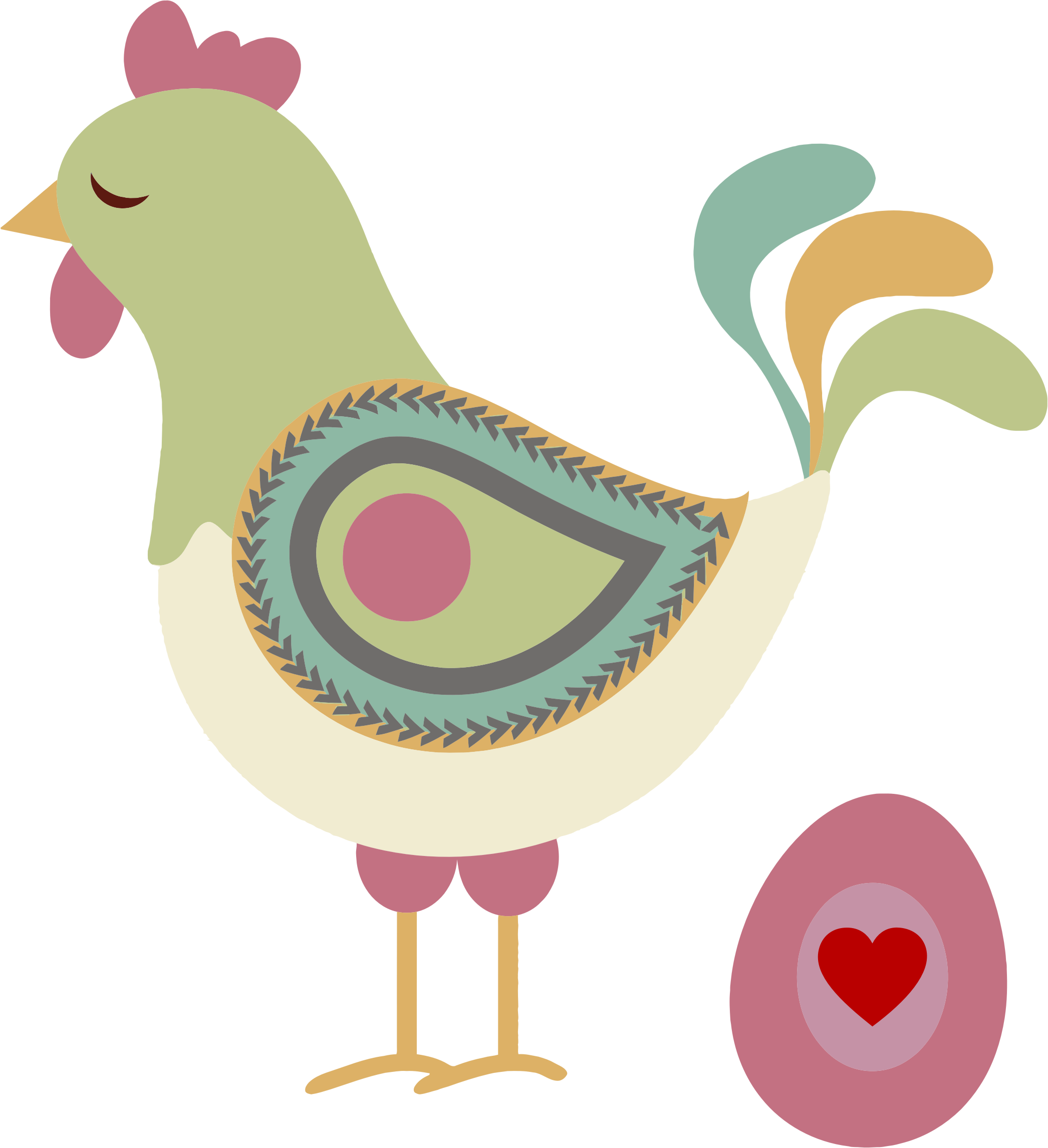 Abstract clipart chicken And Chicken Egg Egg Clipart