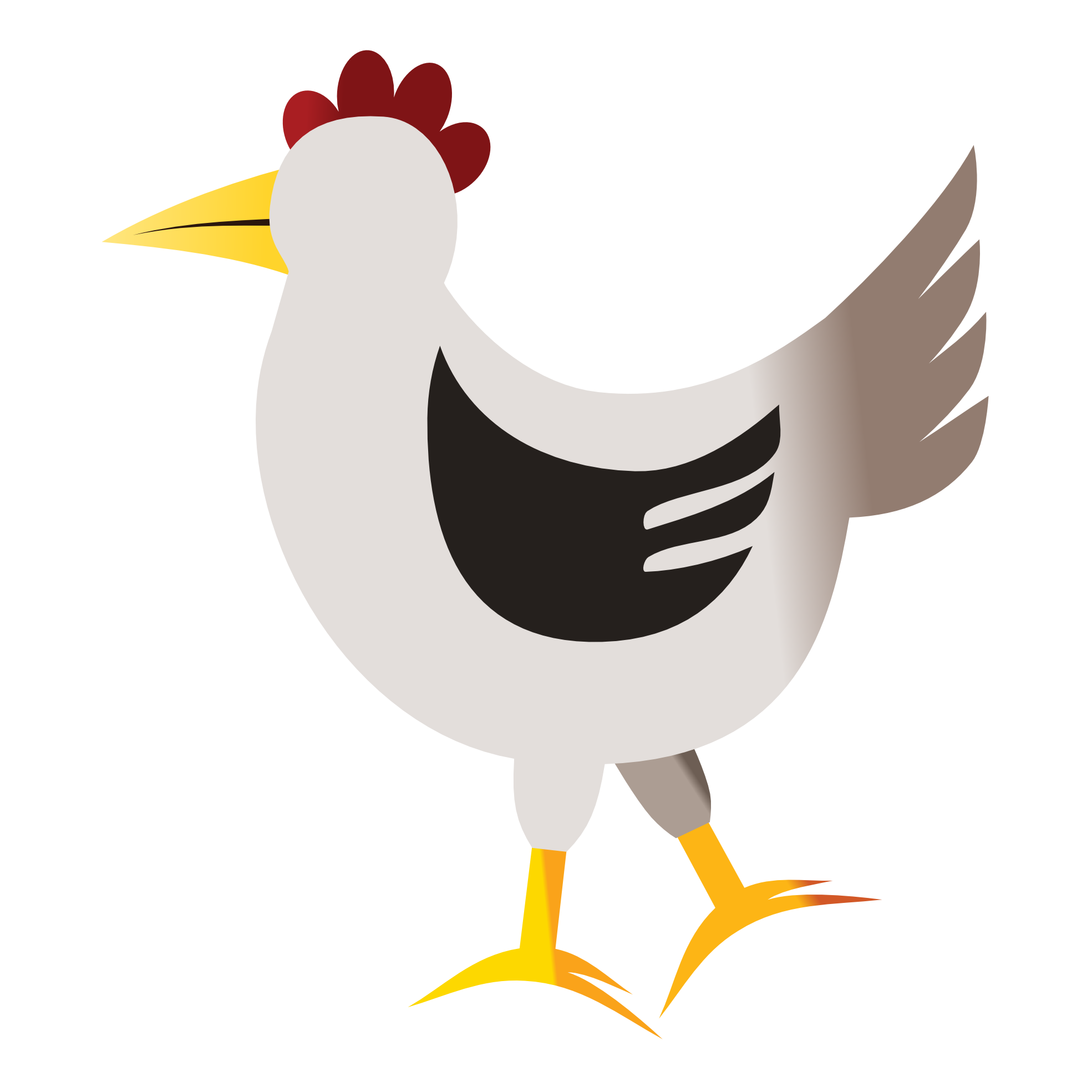 Abstract clipart chicken Clipartsy Art Bird » png