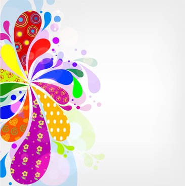 Abstract clipart colorful flower Abstract (21 abstract Free flower