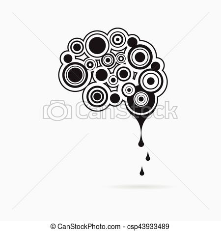 Abstract clipart creative mind Creative logo vector human concept