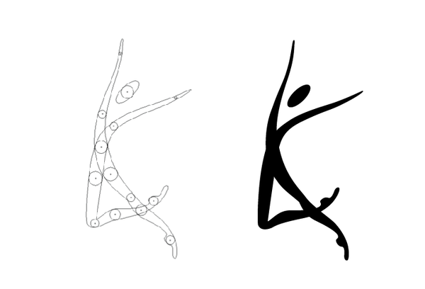 Abstract clipart dancer Images Free Panda Clipart contemporary%20dancer%20silhouette