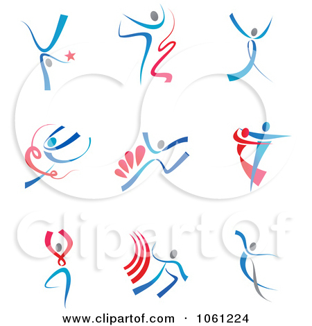 Abstract clipart dancer  Abstract Dancer Clipart
