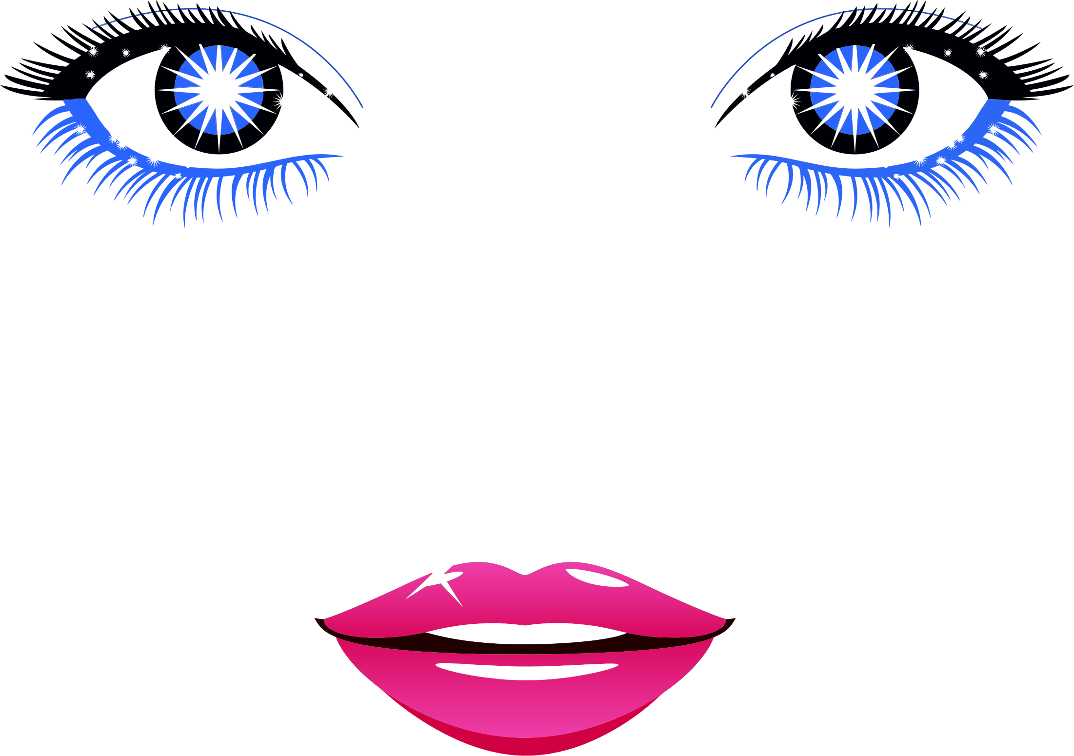 Abstract clipart female face Abstract Female Face Face Female