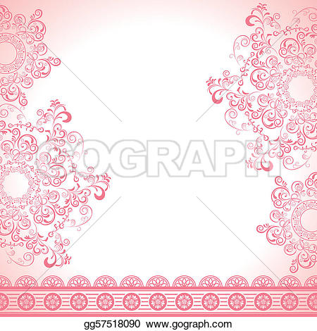 Abstract clipart feminine Feminine Abstract Vector Illustration