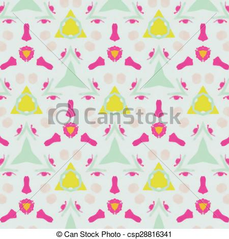 Abstract clipart feminine Textiles festive of for and