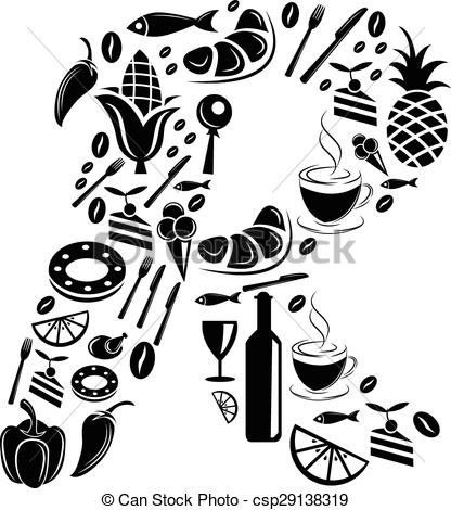 Food clipart abstract #4