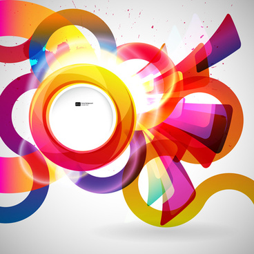 Abstract clipart leave Abstract free leave Colorful vector