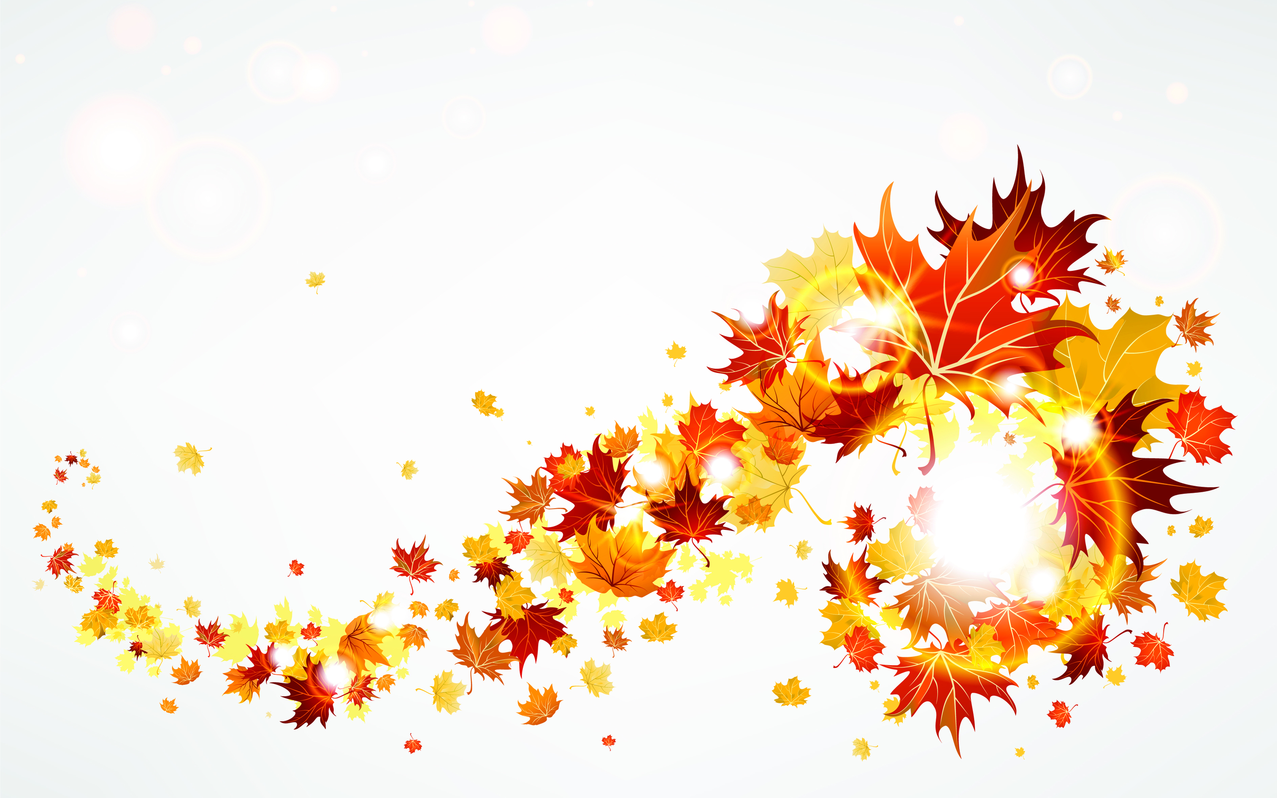 Abstract clipart leave  leaves Download Autumn 2560x