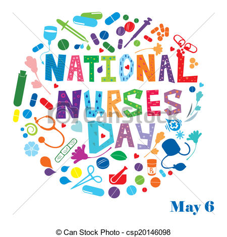 Abstract clipart may  csp20146098 Nurses Day Day