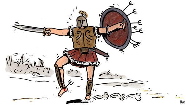 Achilles clipart cartoon Cartoon week JAS's aheadJAS's cartoon