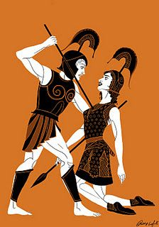 Achilles clipart female warrior Goes that warrior Pinterest &