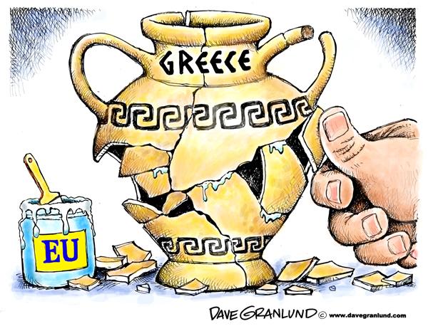 Achilles clipart greece eu Heel Meets The  EU