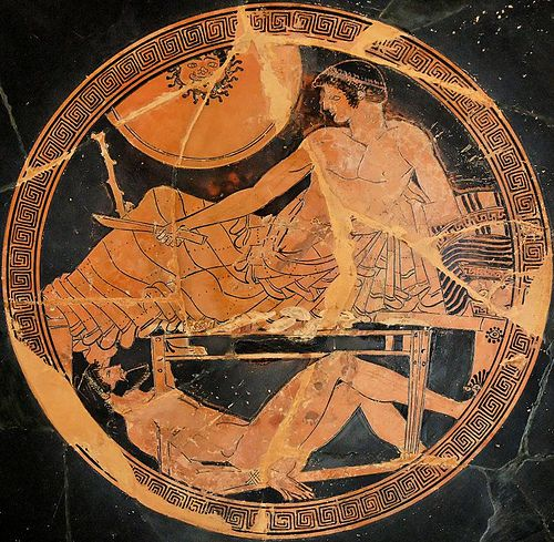 Achilles clipart mythological hero Exekias Homer WAR Hector's an