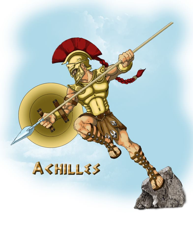 Achilles clipart greek hero My another Chair site