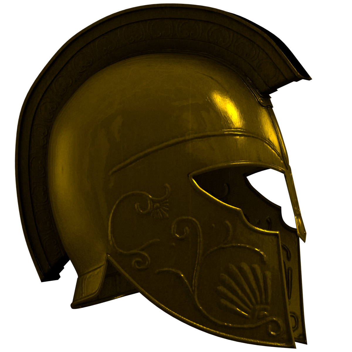Achilles clipart female warrior Around with on polycount some