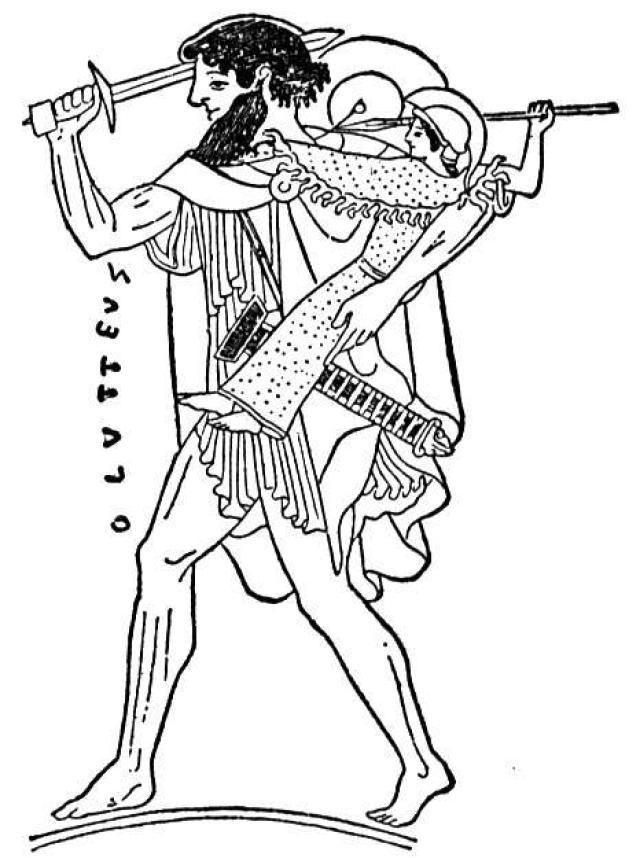 Achilles clipart odysseus Cliparts Zone Barry Achilles of