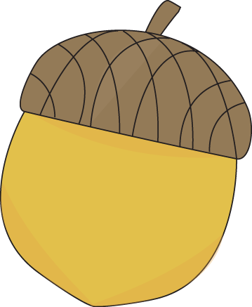 Acorn clipart seed Com Yellow Clip Image #21336