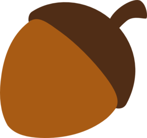 Acorn clipart seed Online Clip Art at royalty