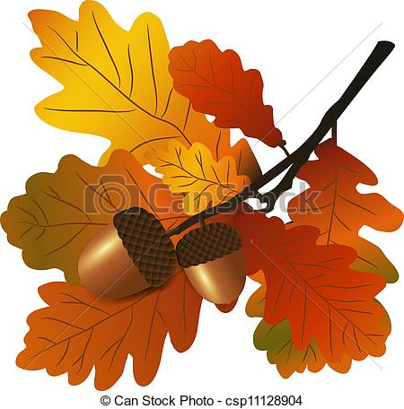 Acorn clipart Art with option vector There