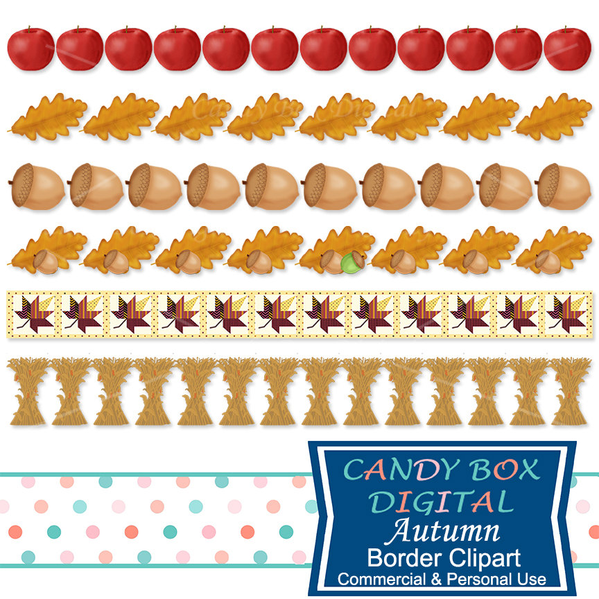 Acorn clipart border Is a Corn Clipart digital
