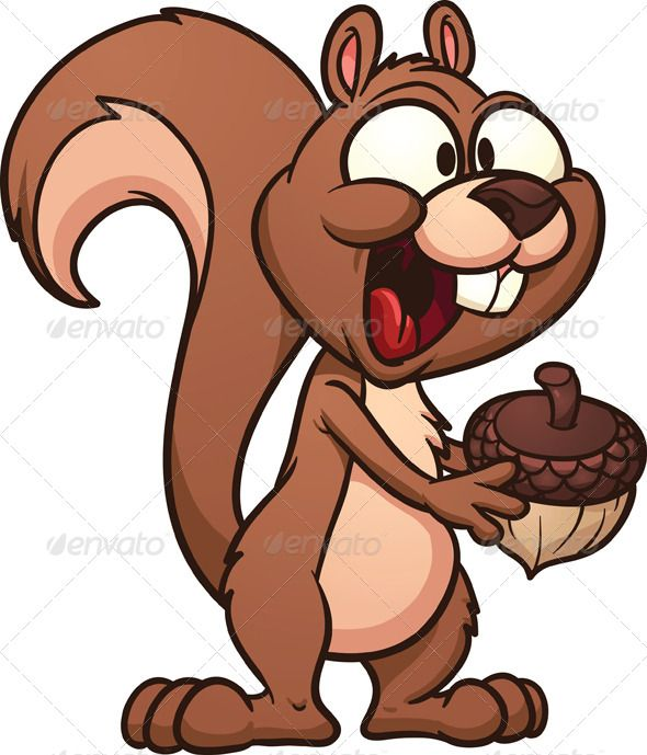 Acorn clipart brown squirrel About Pinterest Pin images art