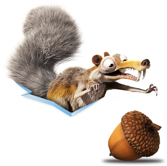 Acorn clipart ice age PNG images PNG Ice Ice