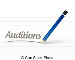 Actor clipart audition Auditions Art collection Clip Tryouts