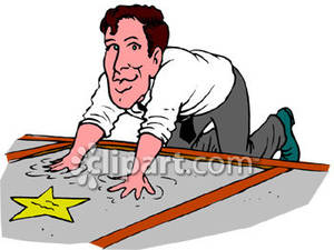 Actor clipart hollywood Clipart Free Getting Star Star