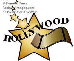 Actor clipart hollywood Clip of Pinterest clip Strip
